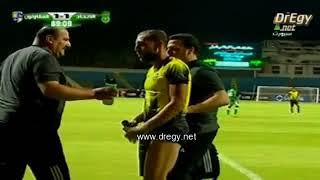 مباراة الاتحاد السكندرى و المقاولون العرب تشهد اول طرد فى الموسم الجديد من الدورى المصرى