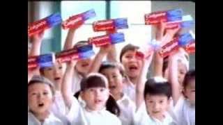 colgate toothpaste shark tv ad 2001 isabella pedersen