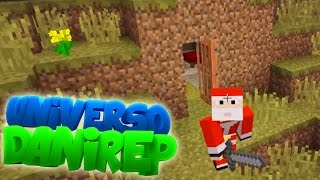 PASÁNDOLO MAL EN LA MINA - UNIVERSO DANIREP - Serie Minecraft Supervivencia (Sin Mods) Ep. 2
