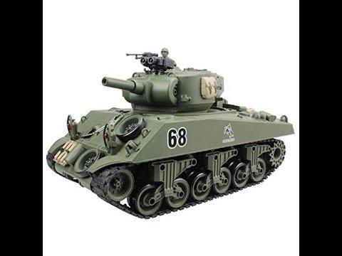 YongHang Sherman Tank Unboxing thumbnail