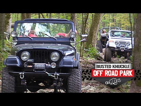 1st Annual Jeep Invasion At Busted Knuckle Off Road Park Youtube