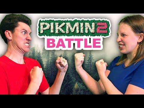 Pikmin 2 BATTLE MODE - Stephen VS Mal!