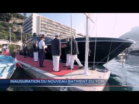 Inauguration du nouveau Yacht Club de Monaco