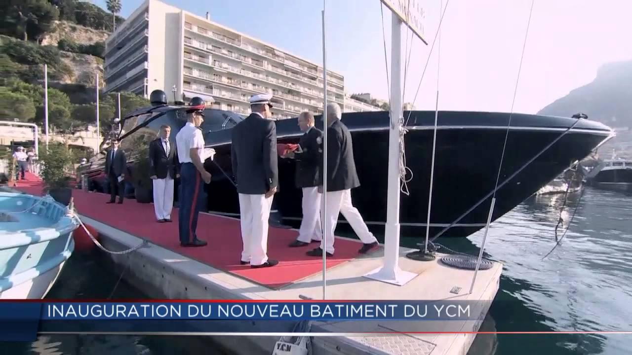 Inauguration du nouveau yacht club de monaco youtube - Salon du yacht monaco ...