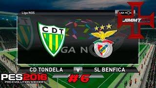 PES 2016 T1 Rumo ao Estrelato #6 Liga NOS Tondela vs Benfica
