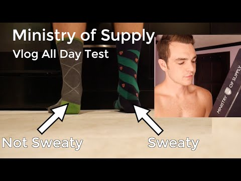 Ministry of Supply Field Test | Performance vs Ralph Lauren Dress Socks | Vlog Clothing Review