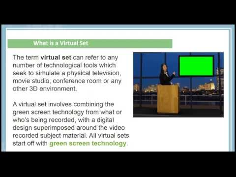 How to use Virtual Sets / Green Screen / News Room