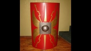 making a roman shield(scutum)