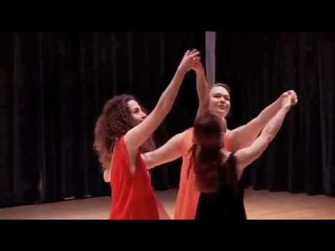 Isadora Duncan's Three Graces reimagined to Brahms Waltz no 5 Medium
