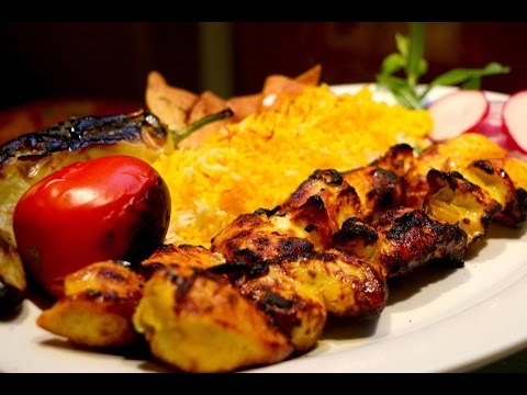 How To Make Persian Chicken Joojeh Kabob/Kebab