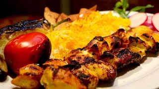How To Make Persian Chicken Joojeh Kabob/Kebab