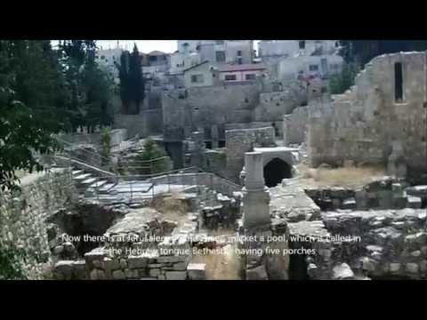 Pools of Bethesda and St Anne's Church, Jerusalem