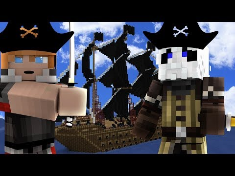 Minecraft Kingdoms - WE JOINED A PIRATE CREW! (Minecraft Roleplay)
