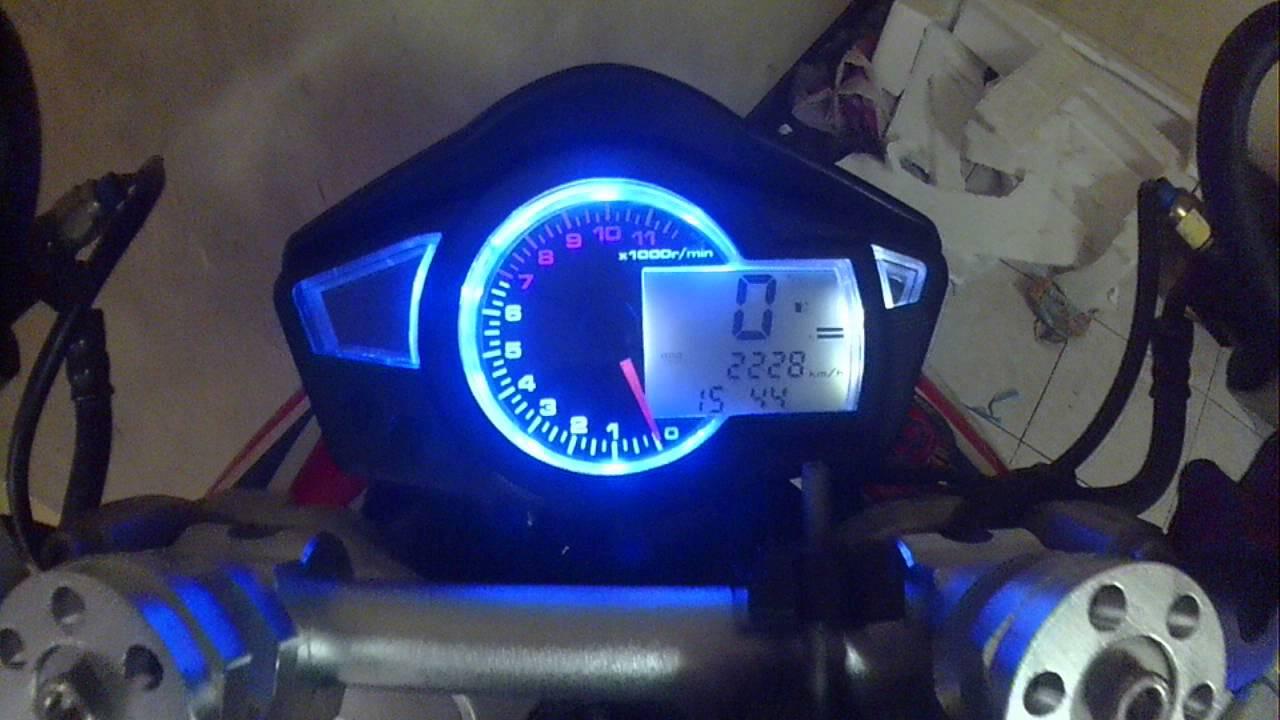 digital speedometer honda wave dash 110r part2