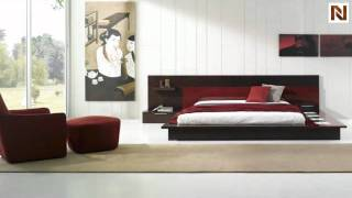 Rimini Contemporary Walk On Platform Bed Vgwcrimini