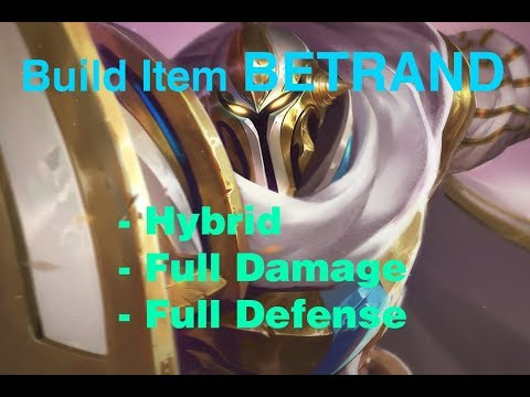 WARSONG INDONESIA - Build Item BETRAND (Protection of the Holy Steel)