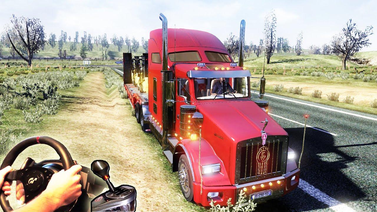American Truck Simulator (ETS2 mod) - Kenworth T800, (+how ...