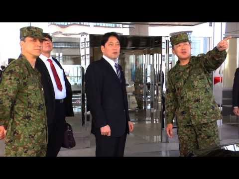 Japanese Ministry of Defense Itsunori Onodera visits