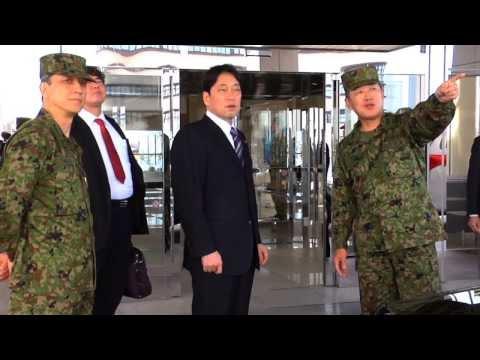 Japanese Ministry of Defense Itsunori Onodera visits