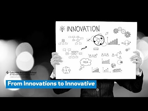 From Innovations to Innovative