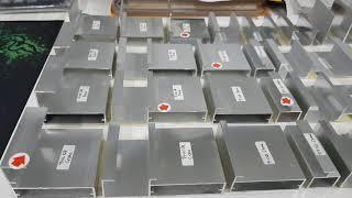 Profil Frame GP 30 Handle Tarikan Alumunium Aluminium Chrome SS Pasir Silver Dop Panjang 3 Meter
