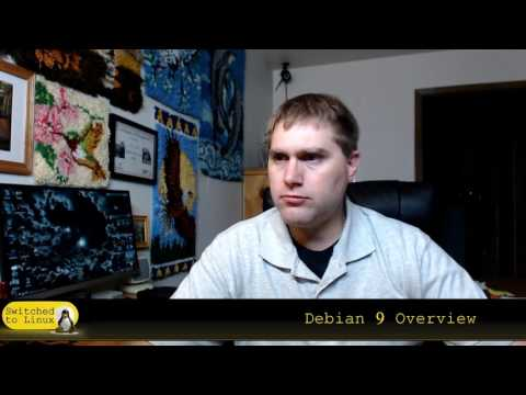Quick Look at Debian 9 - I had a few problems