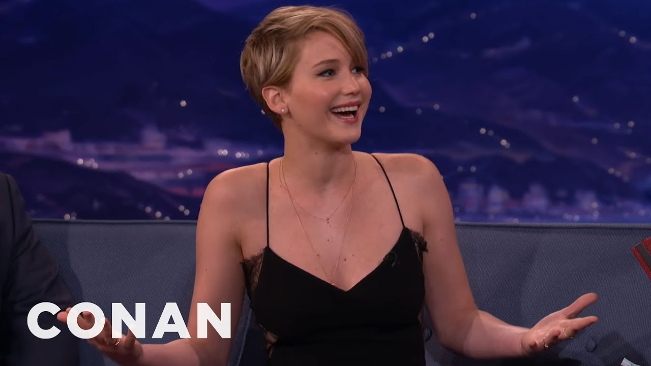Download Jennifer Lawrence Wet The Bed At Age 13 | CONAN on TBS