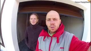 видео Теплые секционные ворота