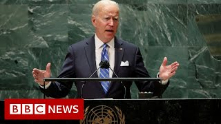 World faces decisive decade says President Biden at UN - BBC News
