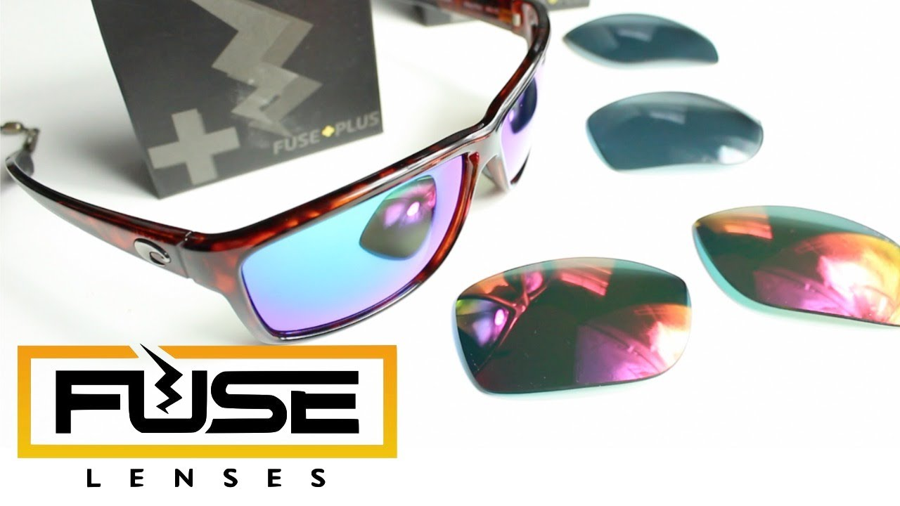 Fuse Lenses Fuse Plus Replacement Lenses for Costa Del Mar Mag Bay