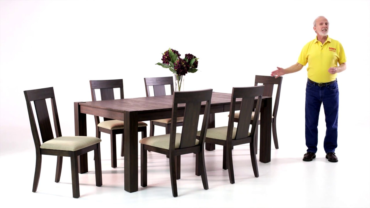 Summit Dining Table Set | Bob\'s Discount Furniture - YouTube
