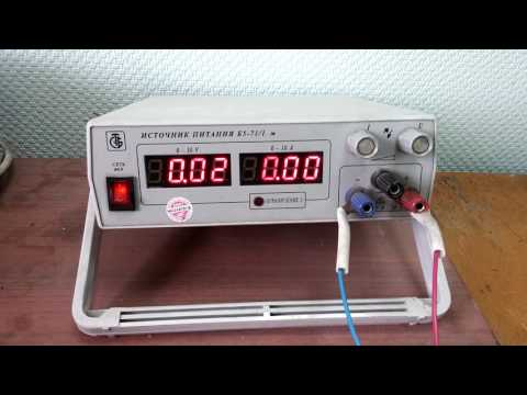 лабораторный блок питания Б71-5 30В 10А обзор
