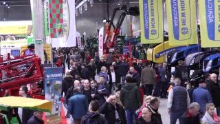 Film z 1.dnia wystawy MAZURSKIE AGRO SHOW OSTRÓDA 2016