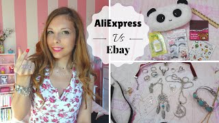 Mega Haul Aliexpress vs Ebay || Quale preferite voi?