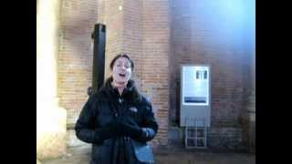 Maria Ferrante sings in the Cremona Baptistery