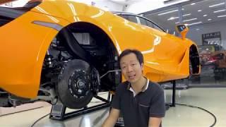 Gambar cover McLaren 720S và chia sẻ về tư duy Detailing