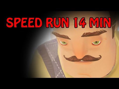 Hello Neighbor Beta 3 Speedrun [14 MINUTES]