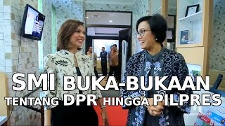 SMI Buka-bukaan tentang DPR Hingga Pilpres