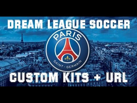 Custom Kits PSG (URL) - Dream League Soccer 16 - Android Gameplay #4