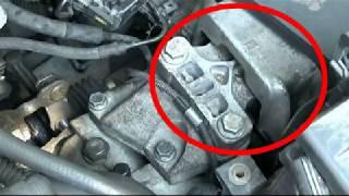 Comment changer un support moteur côté boite ?
