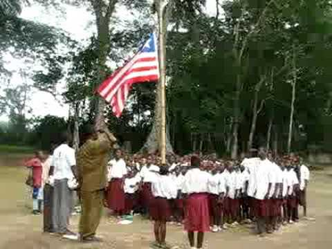 Liberian National Anthem and Pledge of Allegiance
