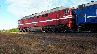 [Shartnoma tuzdi] TEP70-0549 Brest-Saratov poezd bilan [RZD] dizel Lokomotiv.