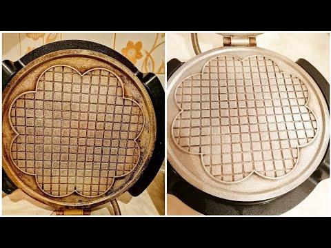 Как очистить советскую вафельницу от нагара в домашних условиях