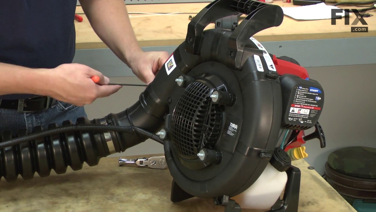 Troy Bilt Backpack Er Repair How To Replace The Throttle Cable