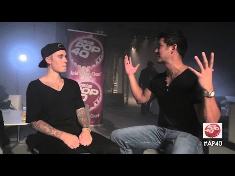 Justin parle de Kayne, de ses fans sur AsiaPop40 || VOSTFR