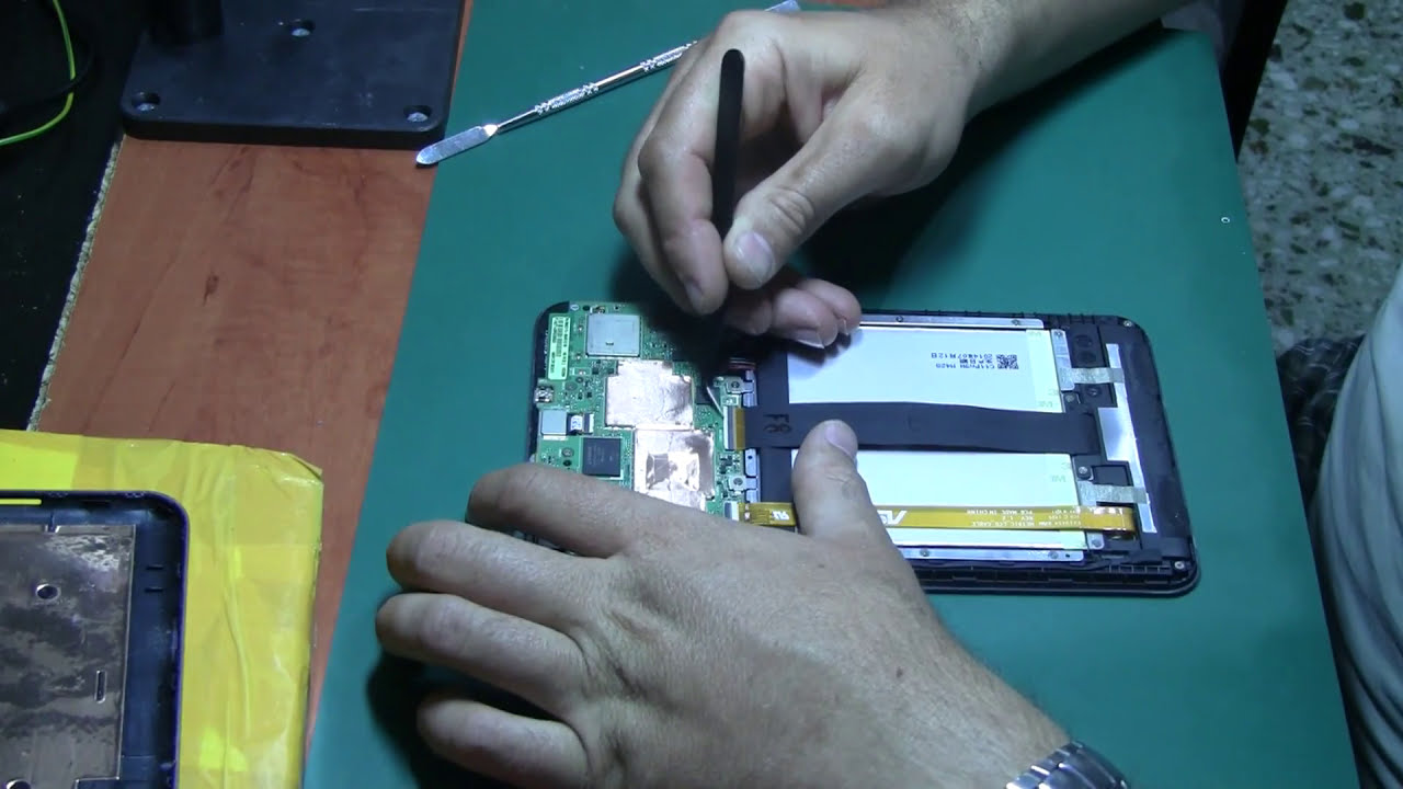Asus 8 Me181c Me181 K011 Замена Экрана Screen Replacement Asus K011  Lab  Compgreece - Ремонт Компьютеров, Гаджетов 28:39 HD