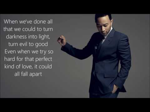 John Legend  Love Me Now  Lyrics on Screen