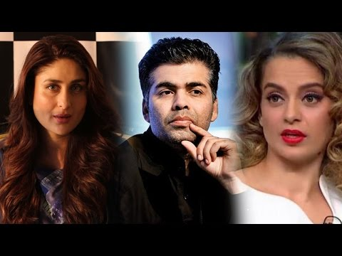 Kareena Talks About Karan-Kangana Controversy | Exclusive