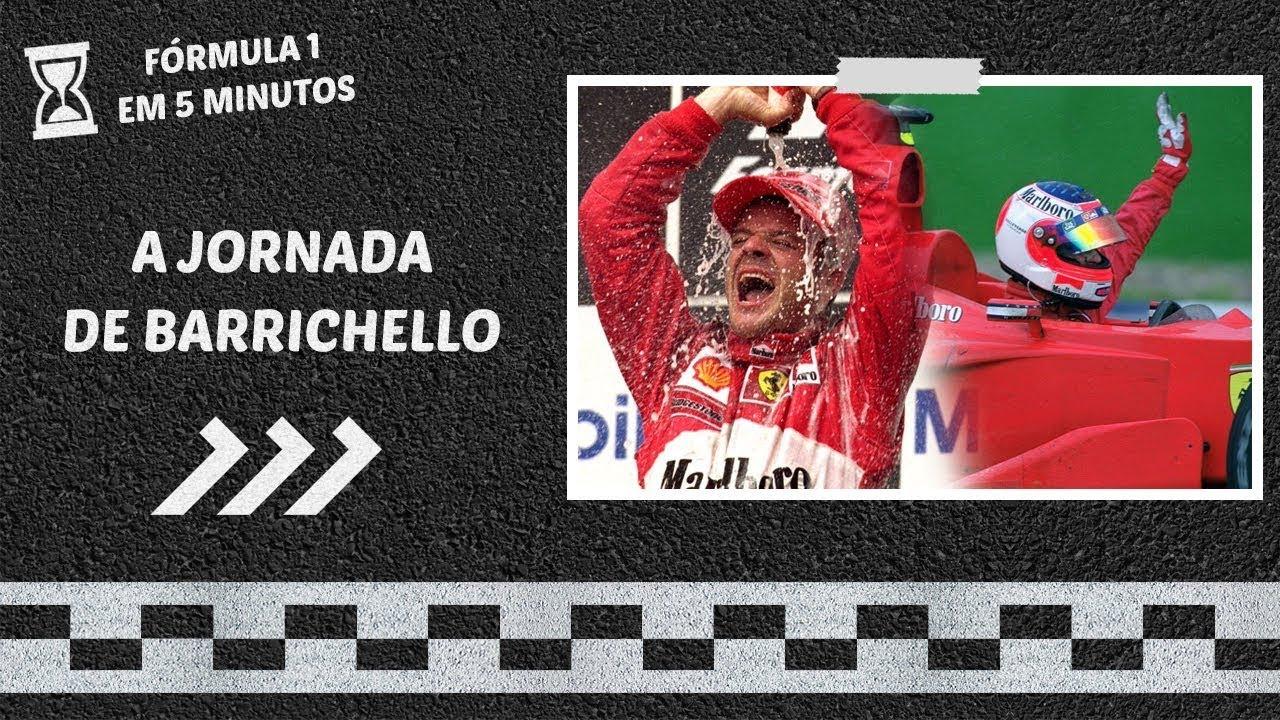 A árdua trajetória de RUBENS BARRICHELLO rumo à PRIMEIRA VITÓRIA na F1