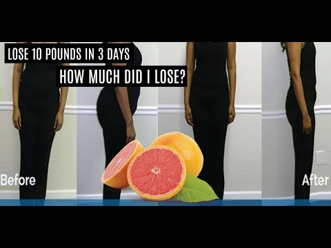 Fast Weight Loss in 3 Days | Before & After | **MUST SEE**